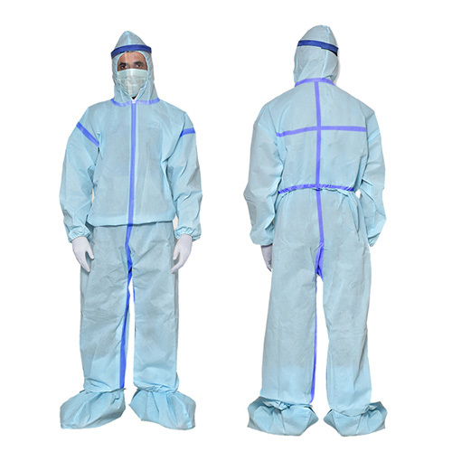Non Woven Sealed PPE Kit 60GSM-WTAPE-LQD