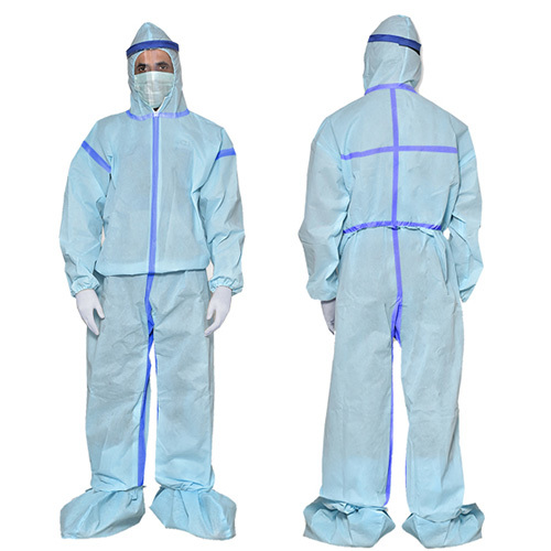 Non Woven Sealed PPE Kit 60GSM-WTAPE-STR