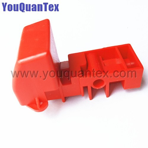 Red handle for Saurer