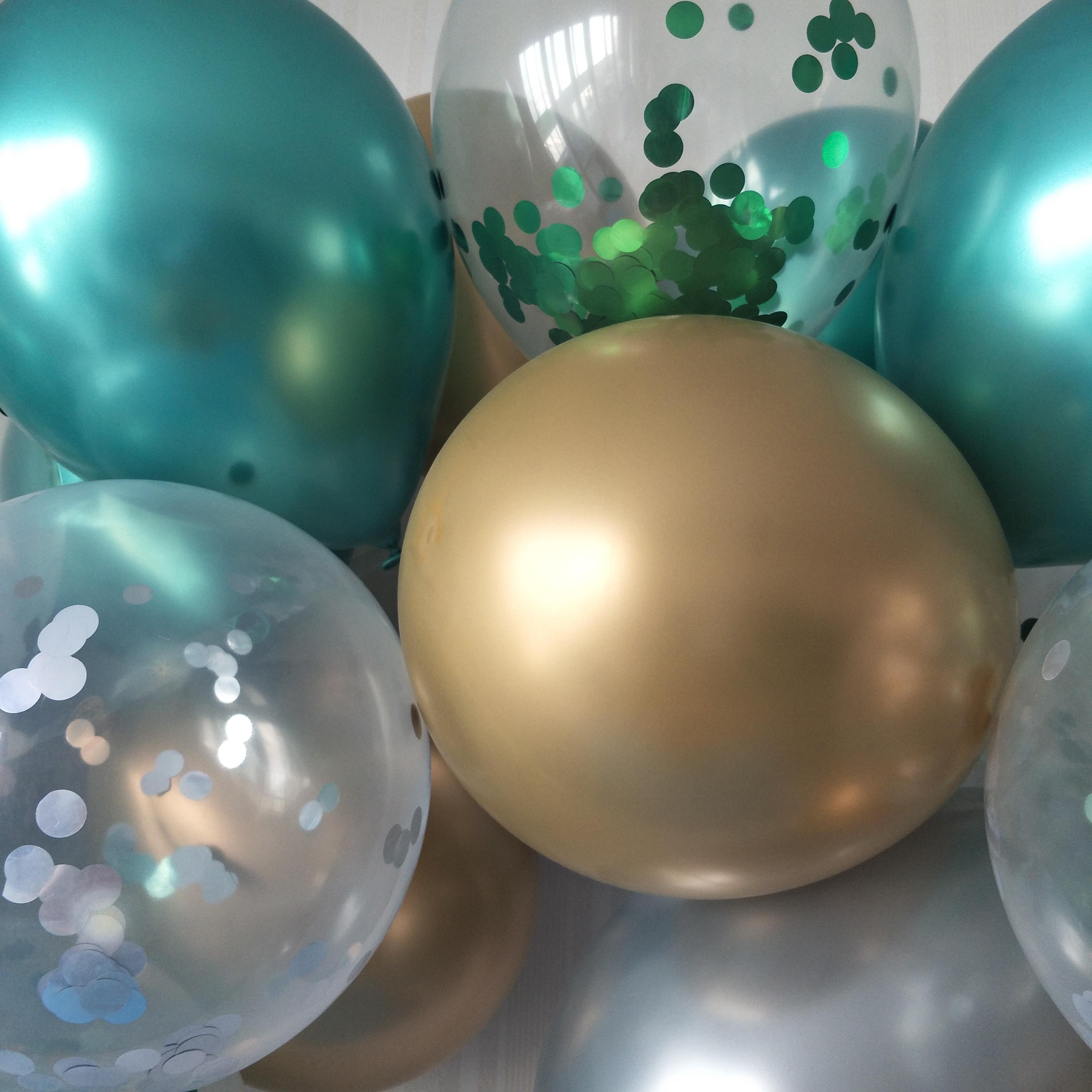 party or birthday balloon set
