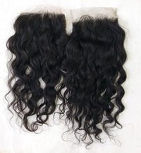 Indian curly Lace Closure 4x4