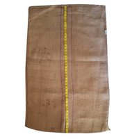 Three Line Blue Sack Jute Bags