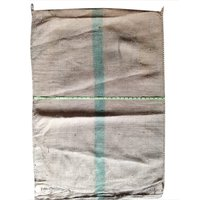 Green Line Rice Jute Bag