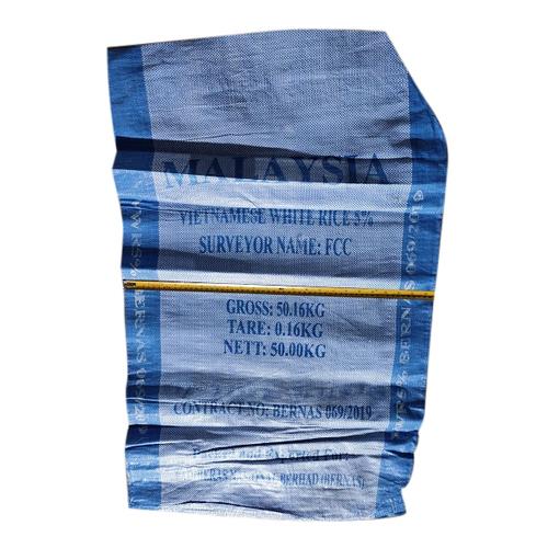 50Kg PP Blue Bag