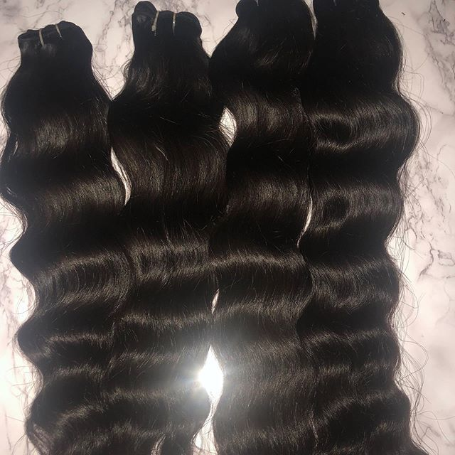 TEMPLE NATURAL REMY HAIR