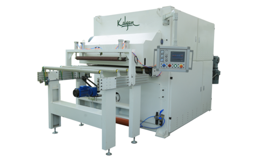 FOUR HEAD BOTTOM SURFACE WIDE BELT SANDING MACHINE