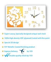 Lord Ganesha Wall Clock