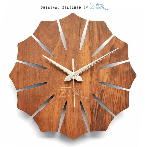 Flower Shape Wall Clock