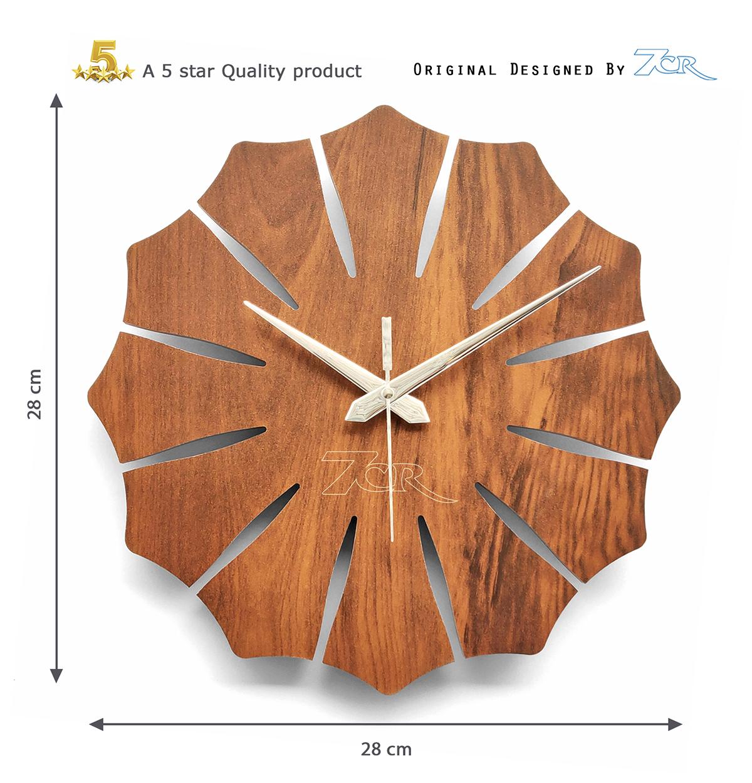 Flower Shape Wall Clock