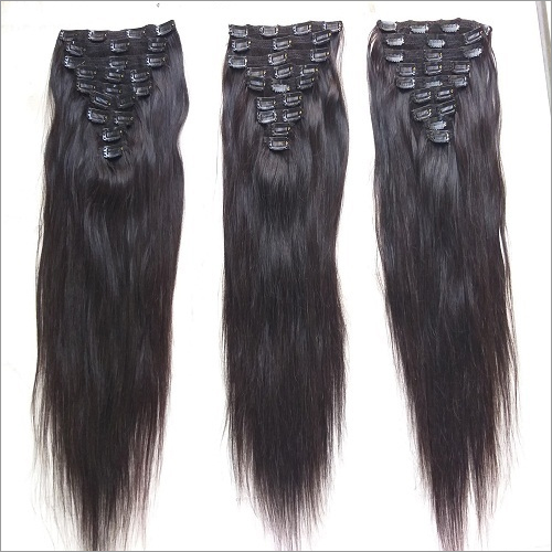 Clip In Straight Human Hair