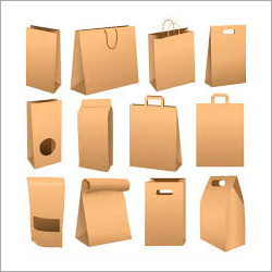 Brown Paper Packaging Bag