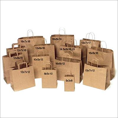 Brown Paper Plain Bag