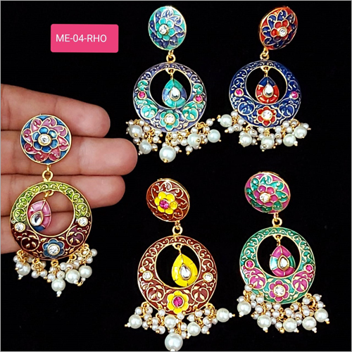 Traditional Artificial Earrings