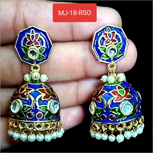 Multicolor Artificial Jhumka
