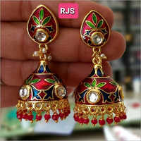 Multicolor Fancy Artificial Jhumka