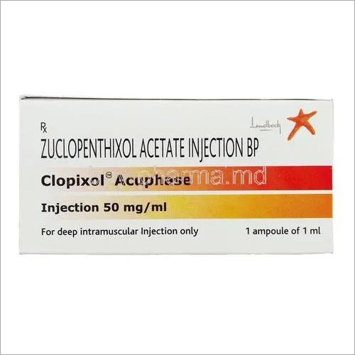 Clopixol Acuphase 50mg Zuclopenthixol injection