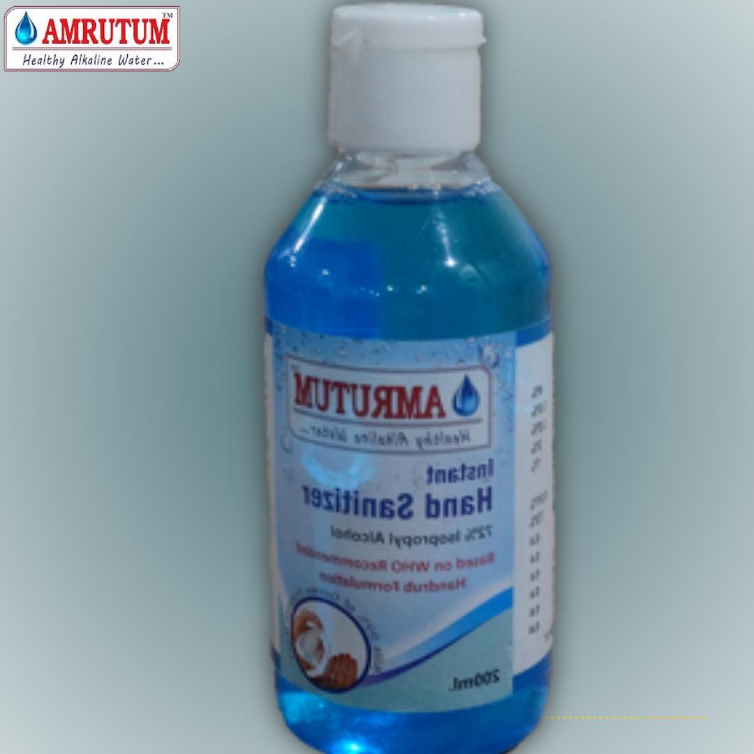 Amrutum Alcohol Based 200 ML Liquid Hand Sanitizer