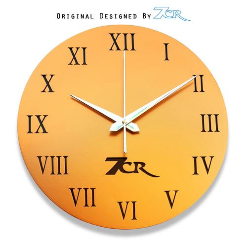 wooden cooper  wall clock