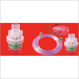 Nebulizer Chamber With Mask And Tubing Adult