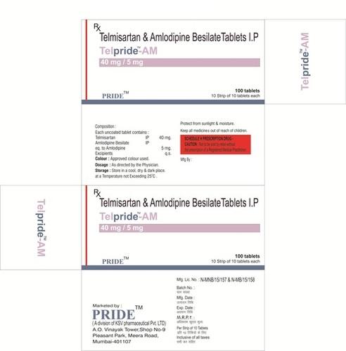 Telpride AM (Telmisartan + Amlodepin)