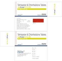 Telpride Ct 6.25 (Telmisartan + Chlorthalidone)