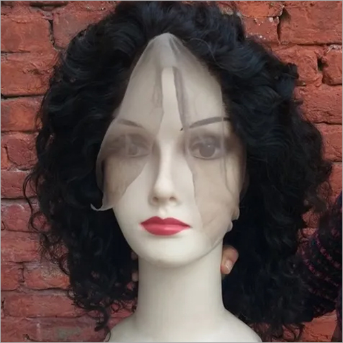 Raw Curly Hair Front Lace Wigs