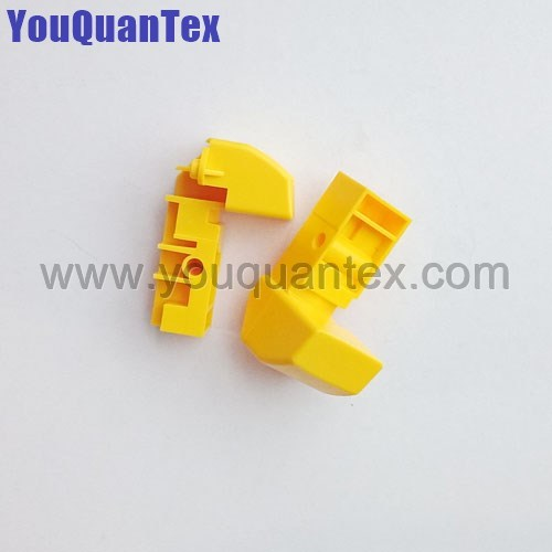 Yellow handle for Saurer