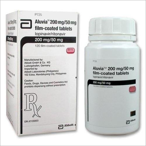 Aluvia ( Lopinavir 200 mg and Ritonavir 50 mg) Tablet