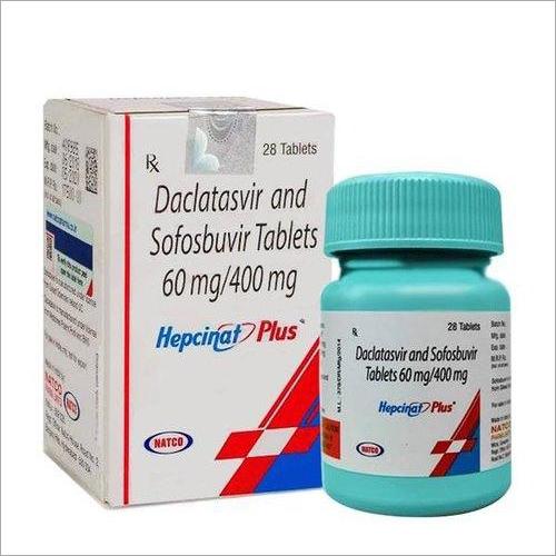 Hepcinat Plus Tablets ( Sofosbuvir 400mg And Daclatasvir 60mg Tablets ) - Natco Pharma Ltd
