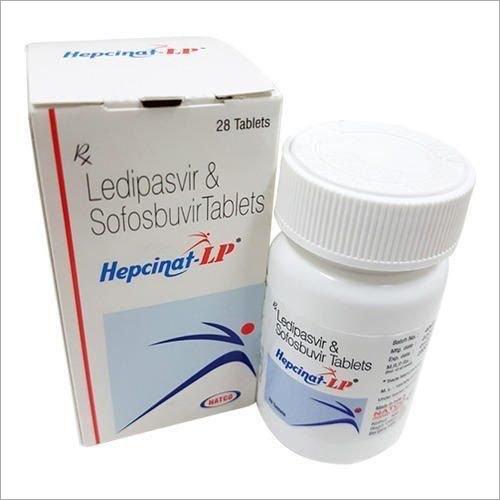 Hepcinat-LP Tablets (Ledipasvir 90 mg & Sofosbuvir 400 mg)