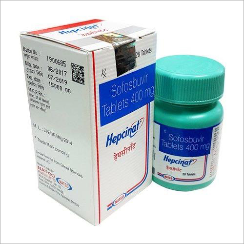 Hepcinat 400mg Tablets
