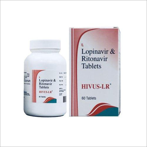 Hivus LR Tablets( Lopinavir 200 mg and Ritonavir 50 mg)
