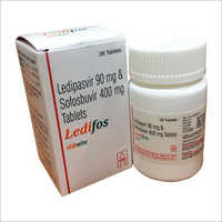 Ledifos Tablets (Ledipasvir 90 mg & Sofosbuvir 400 mg) For Hep C
