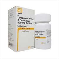 Ledviclear Ledipasvir Sofosbuvir Tablet