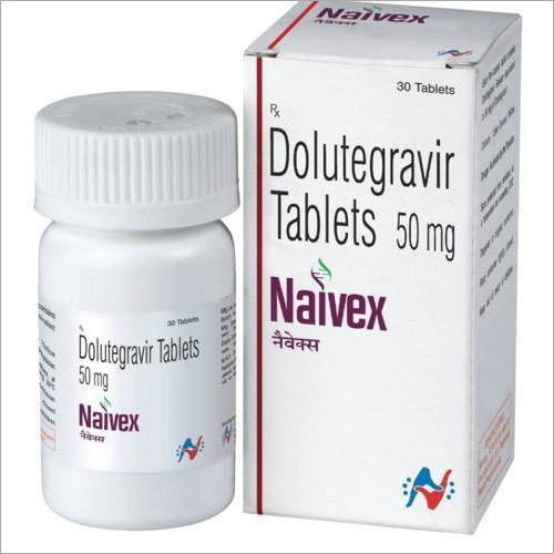 Naivex Tablets (Dolutegravir 50mg Tablets )  By Hetero