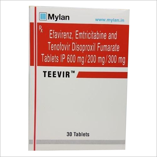 Efavirenz - Emtricitabine And Tenofovir Disoproxil Fumarate Tablets