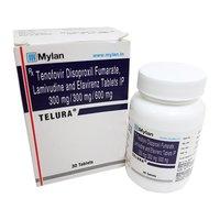 Telura Tab (Lamivudine (300mg) + Tenofovir disoproxil fumarate (300mg) + Efavirenz (600mg)