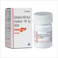 Velasof Tablets (Sofosbuvir 400mg And Velpatasvir 100mg )