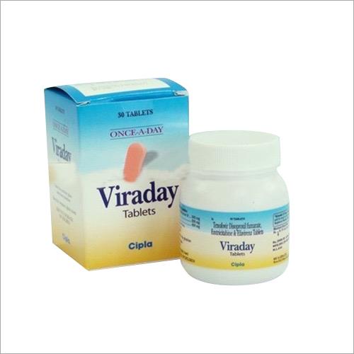 Viraday Emricitabine Tenofovir Disproxil Efavirenz Tablet