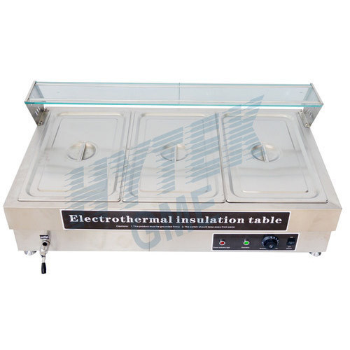 Bain Marie Table Top 3 Pan