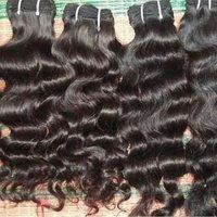 Machine Weft Curly Human Hair