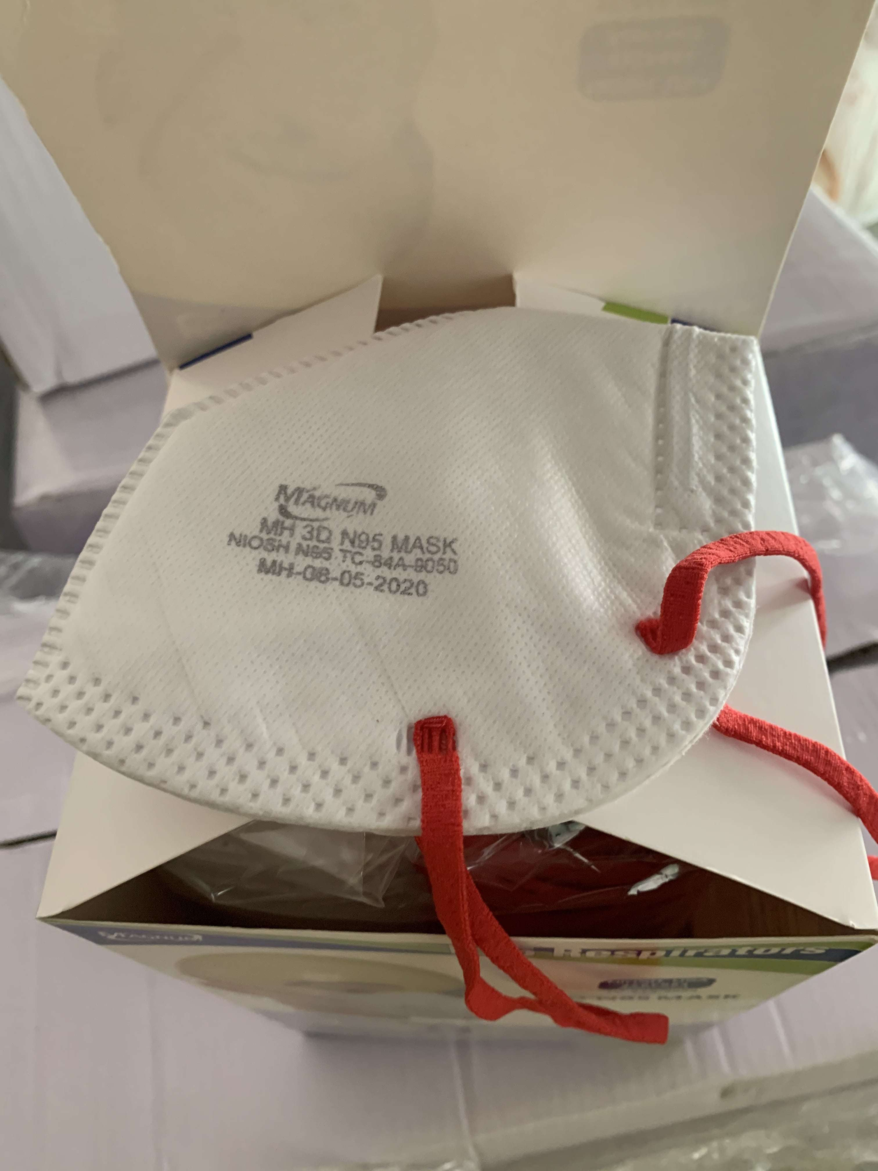 Magnum N95 Mask without Respiratory Valve