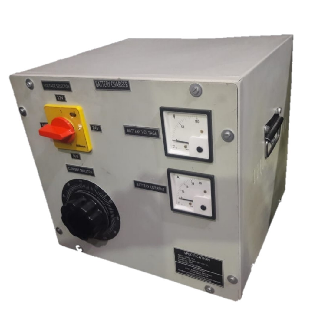 Heavy Duty Transformer Based Battery Charger
