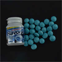 Flavor C Peppermint  Chewing Gum