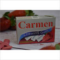 Carmen Strawberry Chewing Gum