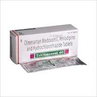 Olmesartan Medoxomil Amlodipine & Hydrochlorthaizide 40mg Tablet