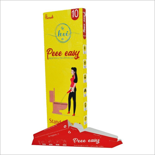 Peee Easy - Stand And Pee Disposable Female Urination Device For Ladies