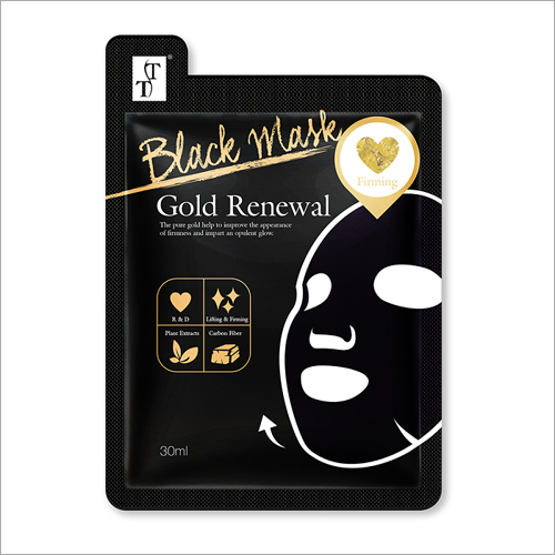 Gold Renewal Charcoal Face Mask