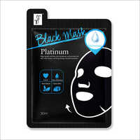 Platinum Black Charcoal Face Mask
