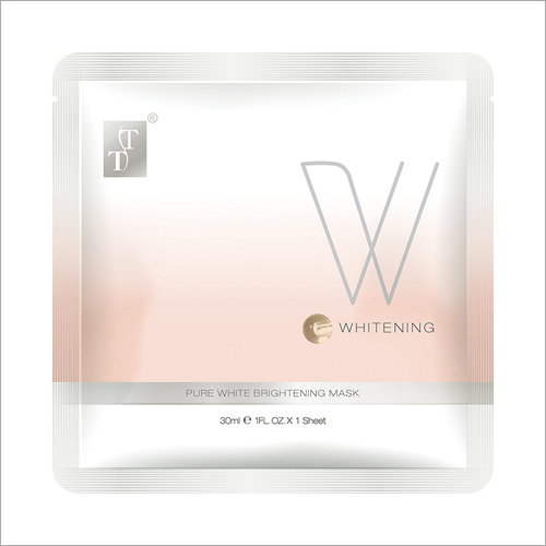 Pure White Brightening Face Mask